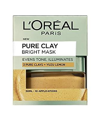L'Oréal Paris 3 Pure Clays and Lemon Bright Mask, 50ml by L'Oreal