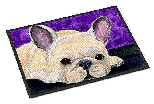 Caroline's Treasures SS8698MAT French Bulldog Indoor or Outdoor Mat 18x27 Doormat, 18H X 27W, Multicolor