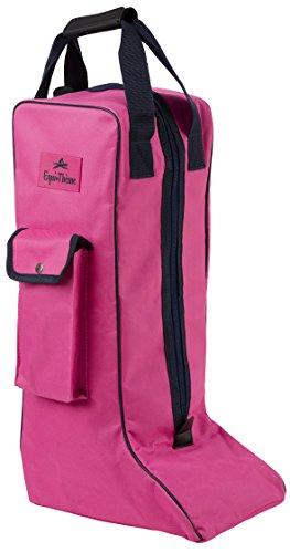 Equi-Theme/Equit'M 910621032 Boots Tasche, Rosa/Marineblau, Einheitsgröße