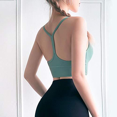 Sport-BH Sport-BH Yoga Amerika Zurück Weste Stil Stoß- Sport Unterwäsche Fitness Sammeln H-M