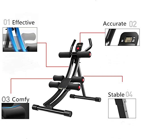 Product Image 5: Fitlaya Fitness Core & Abdominal Trainers AB Workout Machine Home Gym Strength Training Ab Cruncher Foldable Fitness Equipment