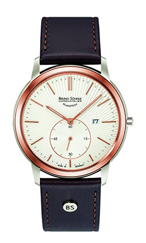 Orologio da uomo Bruno Söhnle in vetro, EPONA, 17-63159-251