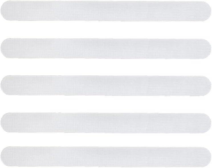 Protector para Pala de Padel Transparente + Pegatina de Padel - Protector Pala Padel Transparente con Acabado Rugoso para Mayor Proteccion 35 x 370 mm
