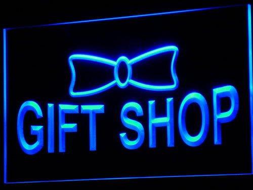 ADV PRO Enseigne Lumineuse i563-b Gift Shop Display Souvenir Logo Neon Light Sign