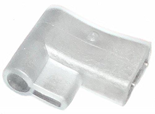 Aerzetix: 10 x Isolierschichten Hülsen abgewinkelte 6,3mm elektrischen Anschluss