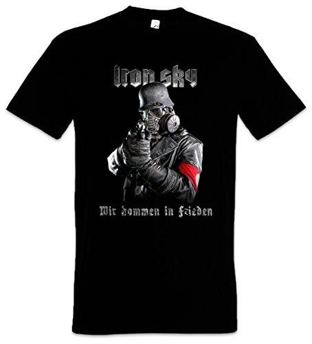 Urban Backwoods Iron Sky Soldier Herren T-Shirt Schwarz Größe XL