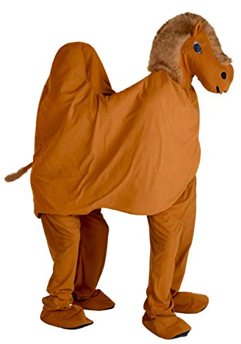 Adult Two Person Camel Costume Couples Halloween Costume Standard