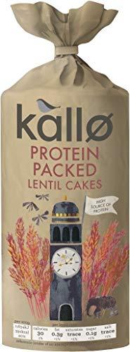 Kallo Protein Packed Lentil Cakes 100g (Pack of 24)