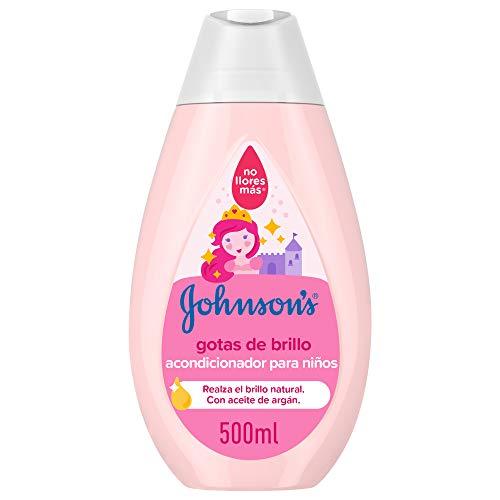 Johnson's Baby Gotas de Brillo - Acondicionador para niños, 500 ml