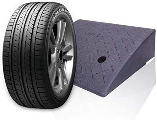 Z-SEAT Rampa de Seguridad Rampas de Goma para bordillos de automóviles, rampas de bordillos Rampa de umbral, rampa de cobertizo Antideslizante para Trabajo Pesado para Entrada de aut
