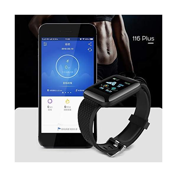 Edhua 116 Plus Pulsera Actividad, Smartwatch HD Touch Screen Fitness Tracker, Pulsera Inteligente, Sport Fitness Tracker… 9