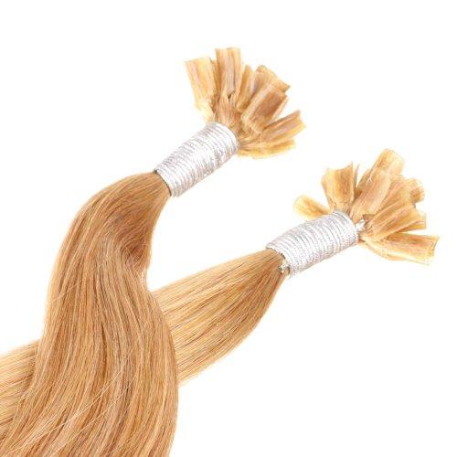 Just Beautiful Hair Extensions U-tip Cheratina Capelli Veri Remy Indiani 30cm - #10 castano chiaro, 1x100 ciocche