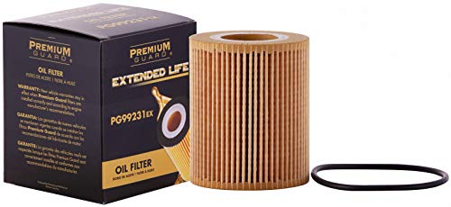 PG Oil Filter, Extended Life PG99231EX| Fits 2016-20 Land Rover Range Rover Sport, 2018-20 Ford F-150, 2016-20 Range Rover, 2017-20 Discovery