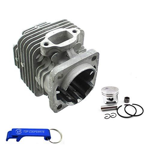 TC-Motor 44mm Ported Performance Racing Block Bore Cylinder Piston For 2 Stroke 47cc 49cc Engine Mini Moto Dirt Pocket Bike ATV Quad