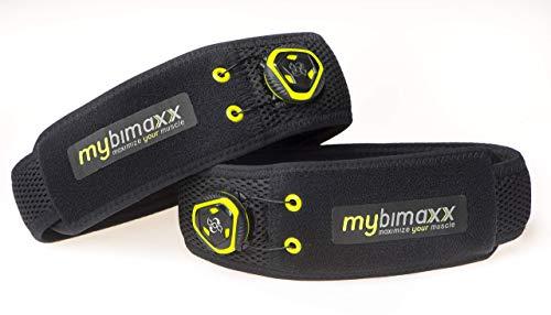 mybimaxx BFR (Blood Flow Restriction) Bandagen - für die Arme, Farbe: Schwarz