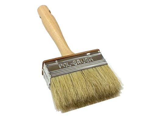 Tapezierbürste, natürlicher Malerpinsel, Malerbürste, Zaunpinsel, Natural Bristle Hair, 30x90