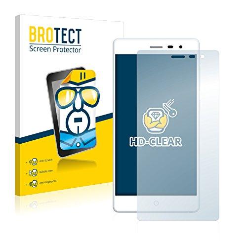 BROTECT Schutzfolie kompatibel mit Elephone Trunk (2 Stück) klare Bildschirmschutz-Folie