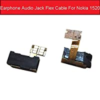オーディオジャックヘッドフォンフレックスケーブルノキアルミア1520 MARSファブレットRM-937 RM-938 RM-939 6インイヤホンジャックポートフレックスリボン