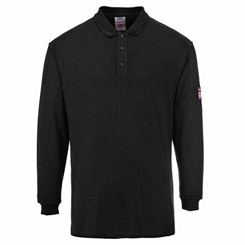 Portwest Portwest FR10Shirt FR antistatisch Polo, FR10BKRM