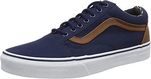 Vans Herren Old Skool Va38G1Mve Sneakers, Blau (C and L Dress Blues/Material Mix), 40.5 EU