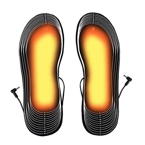 USB Calefacción eléctrica recargable de la plantilla climatizada Sole térmica arreglada del pie del invierno más cálido