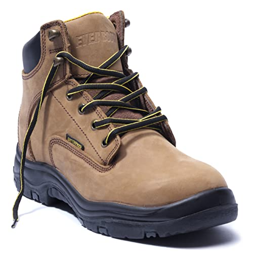 EVER BOOTS'Ultra Dry' Men's Premium Leather Waterproof...