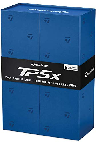 Fantastic Deal! TaylorMade TP5x Golf Balls 4-Dozen White