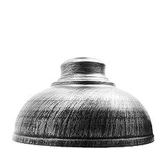 Retro Style Ceiling Pendant Light Shade Wonderful design for pendant lighting Shade Material: Metal; Dimensions: 29cm(Diameter)*17cm(Height); Lamp Base: E27 Light Source: Incandescent bulb, Edison light bulb, Energy saving bulb, LED bulb, etc. Lovely...