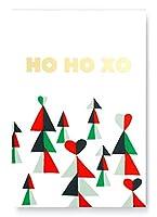 ケイト・スペード ニューヨーク ホリデー To Doリスト メモ帳 デスクトップメモ帳 100ページ 白紙ページ Ho Ho XO