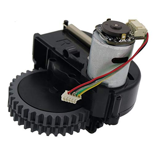 ZRNG Rueda Derecha Robot Aspirador de aspiradora Accesorios Ajuste para ILIFE V3S Pro V5S Pro V50 V55 Robot Robot Aspiradora Ruedas Motores La instalación es Simple y fácil de Usar.