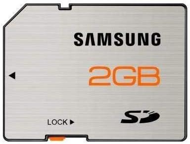 Samsung 2GB Secure Digital SD Memory Card (SD-2048, Bulk Package)