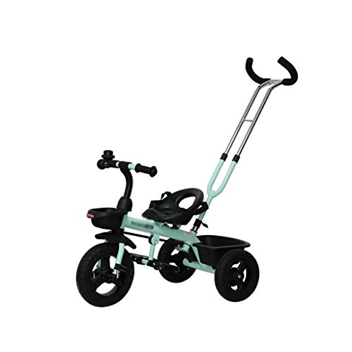 Stroller Toys Bicycle Kids Toy Car Lightweight Foldable Tricycle Child Pedal Bicycle Childrens Bicycle Boy Girl Trolley Best Gift for Children (Color : Blue, Size : 4590cm)