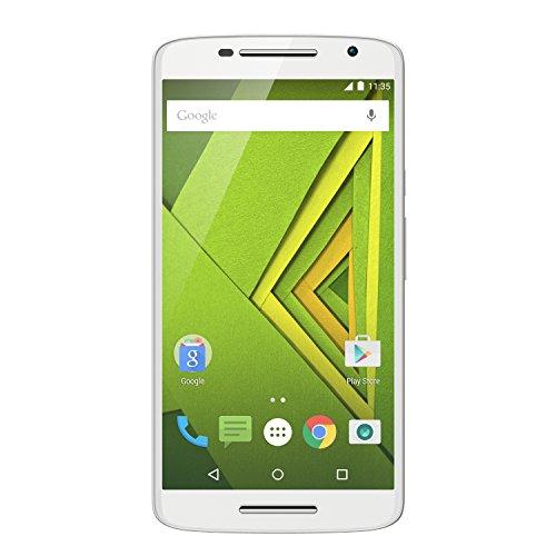 Motorola Moto X Play Smartphone (13,9 cm (5,5 Zoll) Display, 16 GB Speicher, Android 5.1) weiß