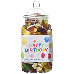 mr tubbys jelly mix in happy birthday labelled jar, medium, 750 g Mr Tubbys Jelly Mix in Happy Birthday Labelled Jar, Medium, 750 g 418nqK wK7L