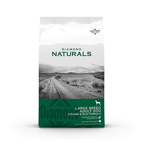 DIAMOND NATURALS Dry Food for Adult Dogs, Large Breed 60+ Chicken Formula, 40 Pound Bag, 40 lb (838_40_DBD)