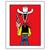 ZigZag Editions Poster Offset Lucky Luke, Ready to Shoot