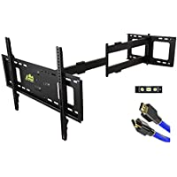 Forging Mount Long Arm TV Mount Full Motion with 42 Inch Long Extension