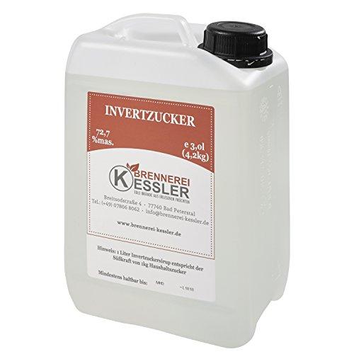 Invertzucker - Flüssigzucker 3 Liter (4,2kg) 72,7% mas.