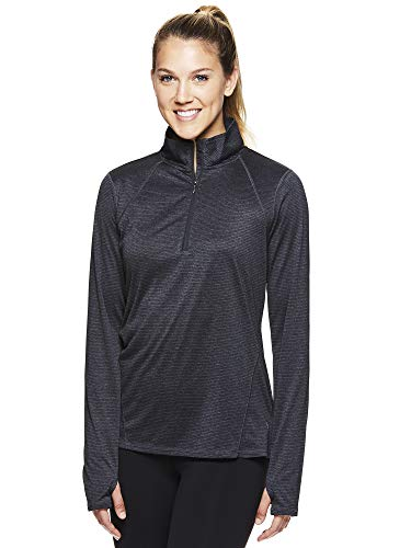 HEAD Women's 1/2 Zip Up Pullover Track Jacket - Long Sleeve Running Workout & Warm Up Sweater