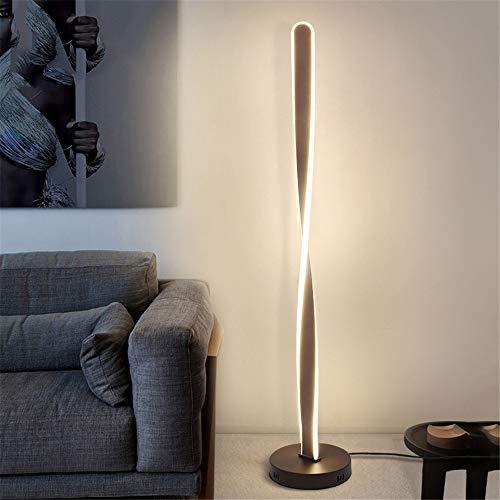 LED Lámpara de Pie Regulable con Control Remoto, 80W Lámpara de Suelo...