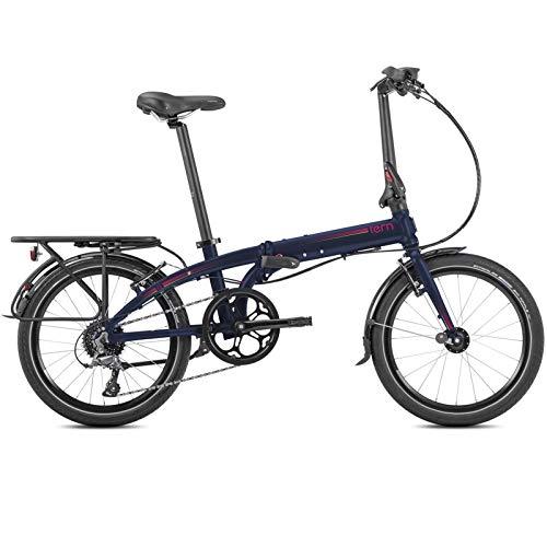 Tern Unisex Fahrrad Link D8 Faltrad, 8 Gang, 20', Dunkelblau, CB19PNDO08HDR