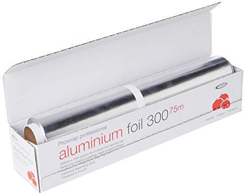 Wrapex AX030 Aluminium Catering Foil, 75m Length, 30 cm Width