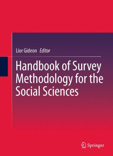 Handbook of Survey Methodology for the Social Sciences