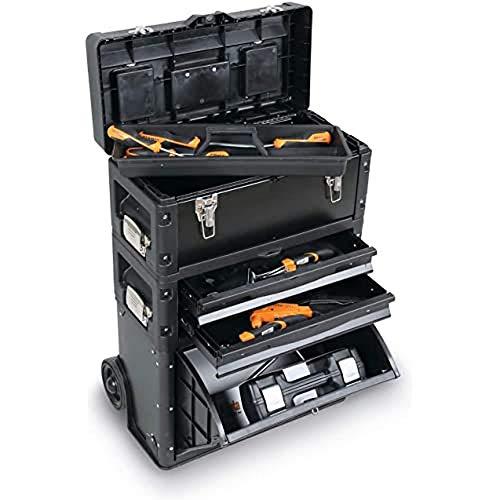BETA 4300/VIT-20 Profi Werkzeugkoffer mobiler Werkzeugschrank (inkl. Werkzeug-Set,...