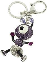 Crystal keychain Violet