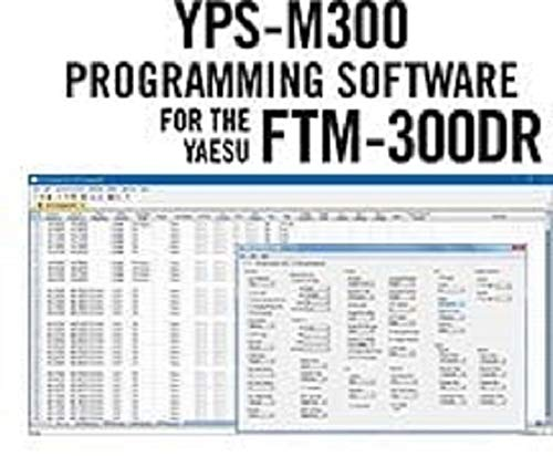 RT Systems YPS-M300 Programming Software Only for The Yaesu FTM-300