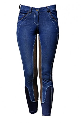 Horseware Ireland Denim-Reithose, denim, 34 Regular
