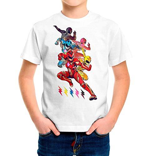 Camiseta Serie Niño - Unisex Power Rangers