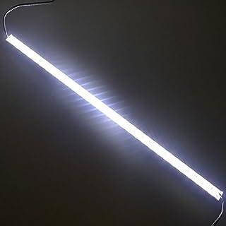 LEDENET 24V DC 20 Inch Cool White (6500K - 7000K) Supper Bright 5050 SMD Aquarium LED Strip - Waterproof Aluminum Lighting