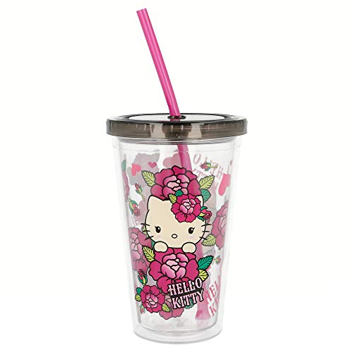 Verre double mural café Ice – Young Adult – 450 ml. Hello Kitty